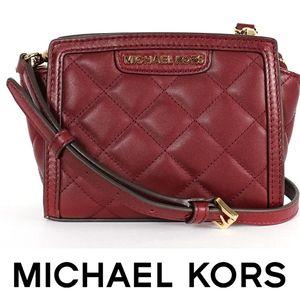 Michael Kors SELMA LEATHER MESSENGER Bag